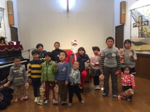 We shared the true meaning of Christmas with these children and their moms.