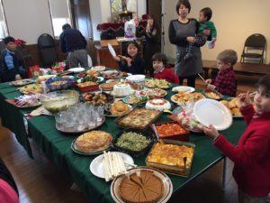 Christmas feast- Japanese style!
